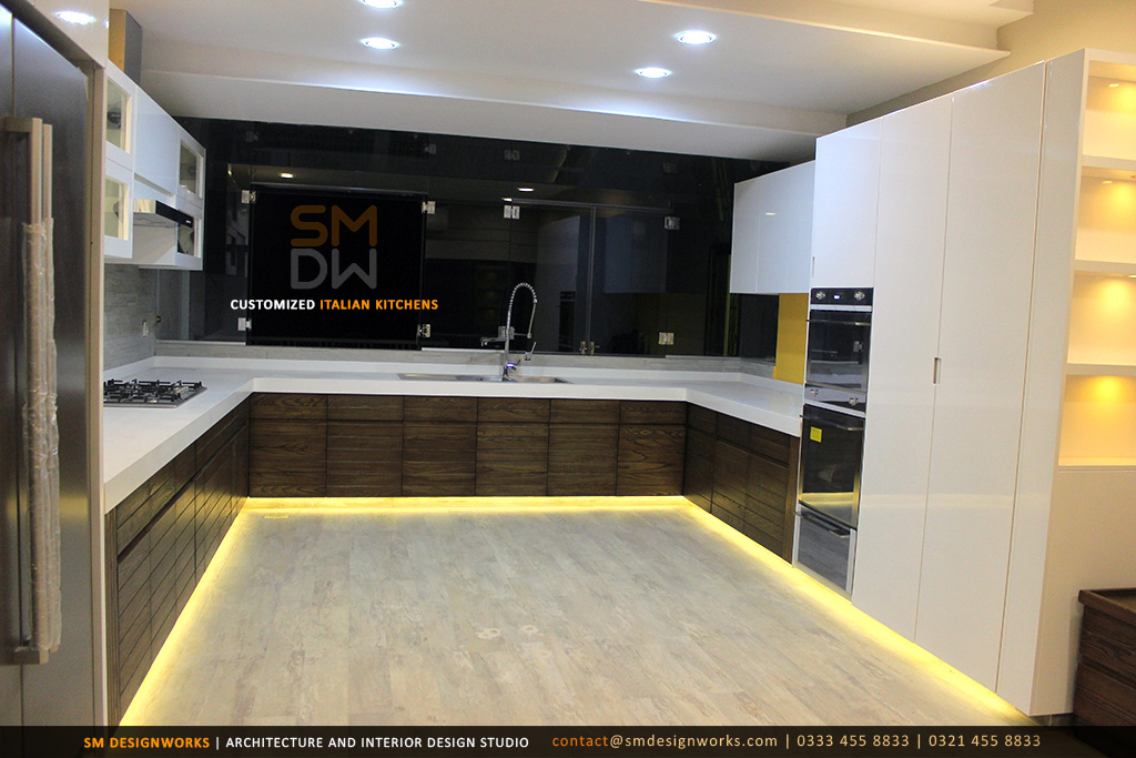Architect lahore house design interior designers construction furniture for Kitchen design in lahore pakistan